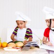 Kids cooking — Stock Photo #8688624