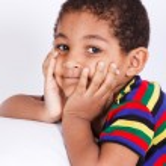 Portrait of a boy — Stock Photo #8688629