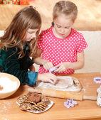 Cięcia cookie — Zdjęcie stockowe