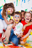Laughing kids — Stock Photo