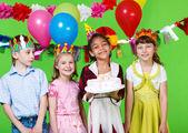 儿童蛋糕 — 图库照片