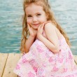 Lovely preschool girl — Stock Photo #8690608