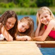 three girls — Stock Photo