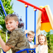 Kids having fun — Stock Photo