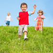 Baby boy running — Stock Photo #8691670