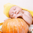 Halloween baby — Stock Photo #8691966
