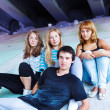 Teenage friends — Stock Photo