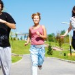 Stock Photo: Jogging