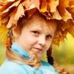 Autumnal portrait — Stock Photo #8692779