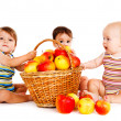 Three babies — Stock Photo