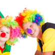 Stock Photo: Clowns