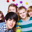 Royalty-Free Stock Photo: Teens at the party