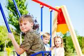 Kids having fun — Stock Photo