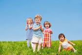 初学走路的儿童 — 图库照片