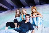 Teenage friends — Stock Photo