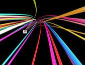 Digitala linjer — Stockfoto