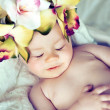 Sleeping baby — Stock Photo #8562782