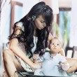 Young beauty mother and her child - Stock fotografie