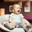 Stock Photo: Happy baby