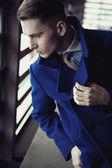 Elegant young man — Stock Photo