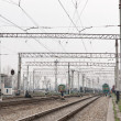 Railway electrification — Stock Photo #10132099
