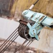 Crane winch — Stock Photo