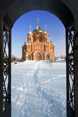 St. Vladimir cathedral in Ukraine — Stock Photo