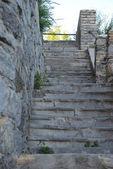 Escombros de la escalera — Foto de Stock