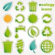 Recycle and ecology icons collection — Stock Vector