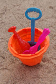 Toy for play with sand — Foto de Stock