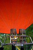 Balloon hot gas faucet — Stock Photo