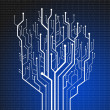 Stock Photo: Circuit board ,technology background