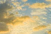 Nice cloudy sky — Stock Photo