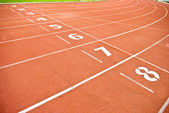Track for sport — Stock Photo