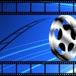 Film strip roll - Stock Photo