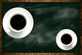 Coffee Break, Coffee in classroom concept — Stock Photo