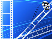 Film strip abstract background — Stock Photo
