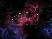 Orion in the universe — Stock Photo