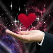 Love from the universe - Stock Photo