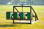 ラグビーのスクラム トレーニング ツール — ストック写真