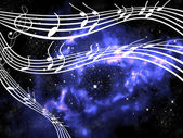 Music from other world — Stock Photo