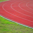 Racetrack in sport arena — Stock Photo