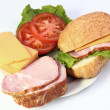 Sandwich — Stock Photo #9269291