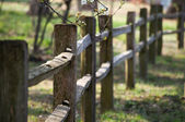 Fence Rails — Stock Photo