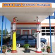 Pete's Gas station museum - Stock Photo