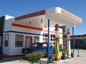 Pete's Gas station museum — Stock Photo