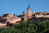 View of the village of Roussillon — Stock Photo