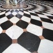 Black and white floor — Stock Photo