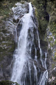 Water fall in the Milford Sound — Stock Photo