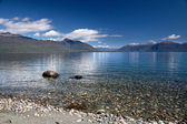 Banks of the Lake Te Anau, New Zealand — Stock Photo